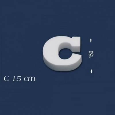 """Buchstabe """"C"""" - Größe 15 cm"""