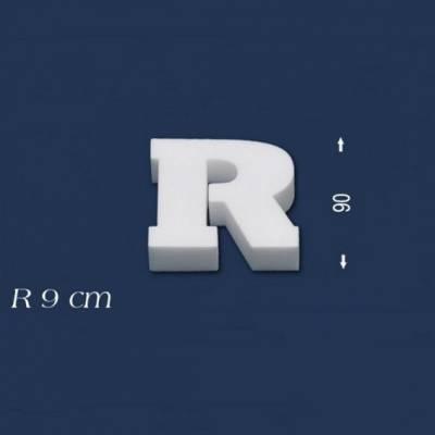 """Buchstabe """"R"""" - Größe 9 cm"""