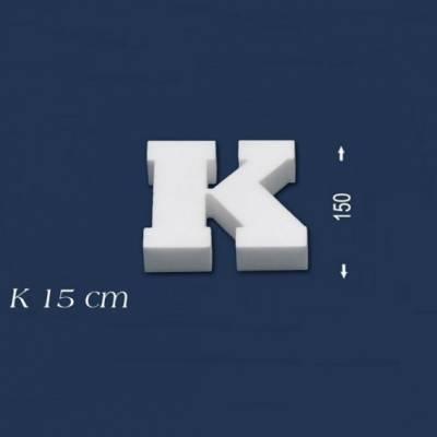 """Buchstabe """"K"""" - Größe 15 cm"""