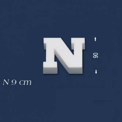 """Buchstabe """"N"""" - Größe 9 cm"""