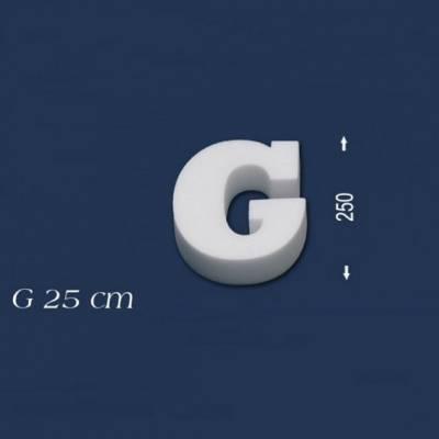 """Buchstabe """"G"""" - Größe 25 cm"""