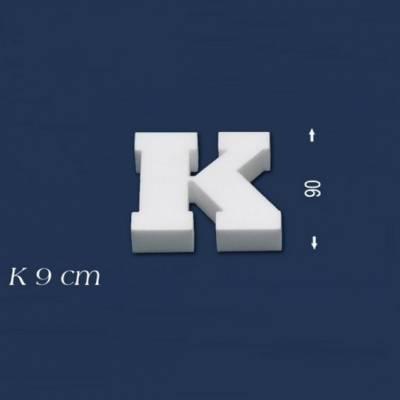 """Buchstabe """"K"""" - Größe 9 cm"""