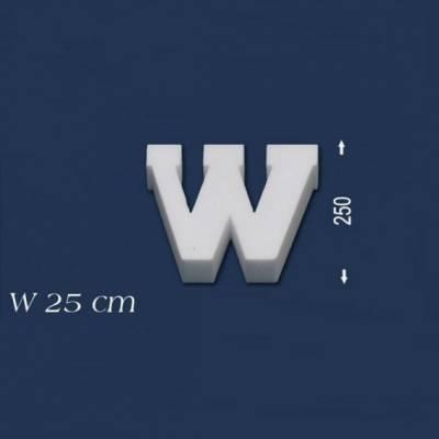 """Buchstabe """"W"""" - Größe 25 cm"""
