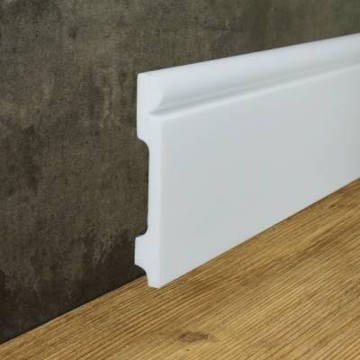 """Fußbodenleiste """"Lolland"""" (NMC FLOORSTYL® - FL4) aus schlagfestem, wasserbeständigem Kunststoff"""