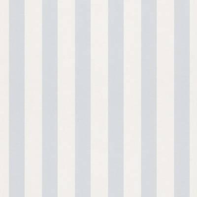 Rasch Bambino XVII   246025   Papiertapete Streifen   0.53 m x 10.05 m   Blau