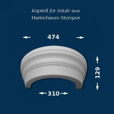 "Säulenkapitell ""Wiesemann SK19-2"" - unbeschichtet"