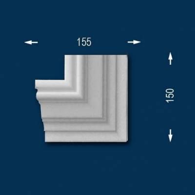 "Fassadenprofile ""Wiesemann FP12"" - Eckendstück links"