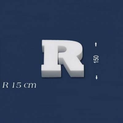 """Buchstabe """"R"""" - Größe 15 cm"""