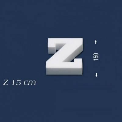 """Buchstabe """"Z"""" - Größe 15 cm"""