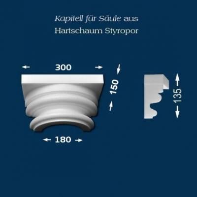 "Säulenkapitell ""Wiesemann SK6-1"" - unbeschichtet"
