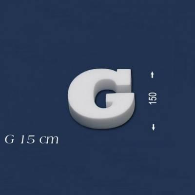 """Buchstabe """"G"""" - Größe 15 cm"""