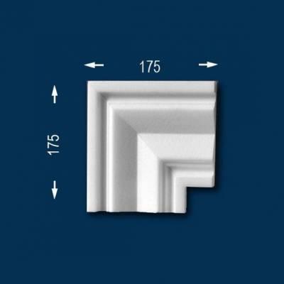 """Fassadenprofile """"Wiesemann FP2"""" - Eckstück"""