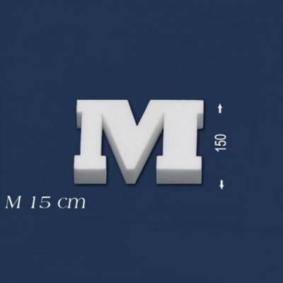 """Buchstabe """"M"""" - Größe 15 cm"""