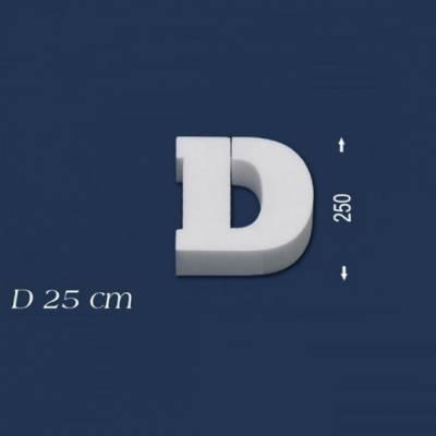 """Buchstabe """"D"""" - Größe 25 cm"""