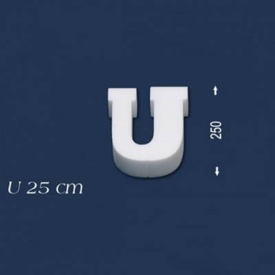 """Buchstabe """"U"""" - Größe 25 cm"""