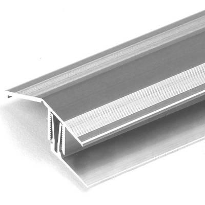 """Ausgleichsprofil / Anpassungsprofil """"Bellingham"""", für Höhe 15 - 24 mm, 50,5 mm breit, 2-teilig, Alu"""