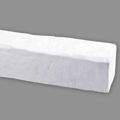 Wiesemann PU-Balken, aus hochfestem Polyurethan, 12 x 12 x 300 cm, Weiß