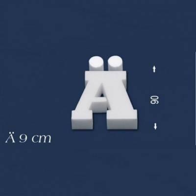 """Buchstabe """"Ä"""" - Größe 9 cm"""
