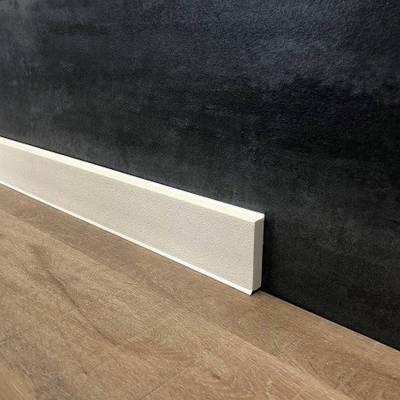 PVC | Sockelleiste | Hartschaum | Fußleiste | Monopoli | 60 x 12 mm | genarbt | versch. Farben