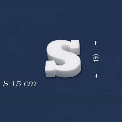 """Buchstabe """"S"""" - Größe 15 cm"""