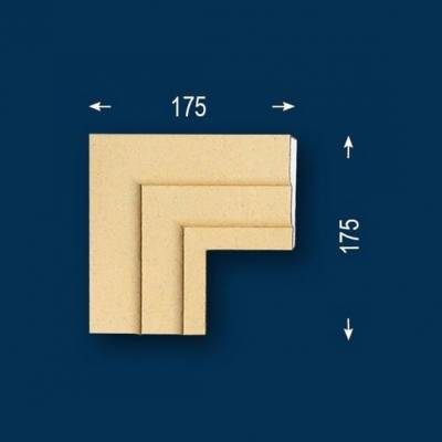 "Fassadenprofile ""Wiesemann FP9-b"" - Eckstück"