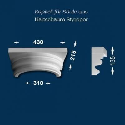 "Säulenkapitell ""Wiesemann SK19-1"" - unbeschichtet"