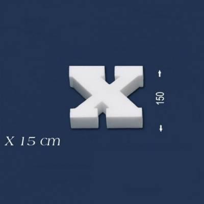 """Buchstabe """"X"""" - Größe 15 cm"""