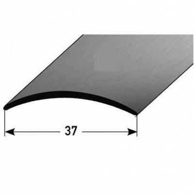 """Übergangsprofil """"Dordrecht"""" / Übergangsschiene, 37 mm / selbstklebend / Typ: 16 Edelstahl"""