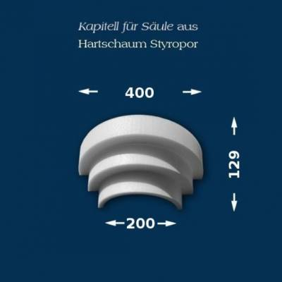 "Säulenkapitell ""Wiesemann SK8-3"" - unbeschichtet"