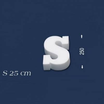 """Buchstabe """"S"""" - Größe 25 cm"""