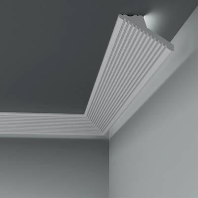 Licht - Stuckleiste 6.50.702 Lines | hochfestes, wasserfestes Polystyrol