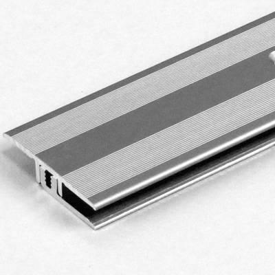 """Übergangsprofil / Übergangsschiene Laminat """"Richmond"""", Höhe 5-9 mm, 33 mm breit, Aluminium eloxiert"""