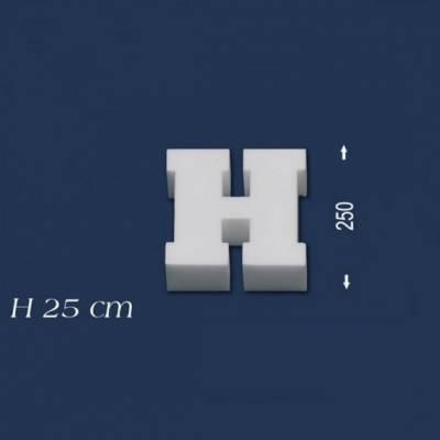 """Buchstabe """"H"""" - Größe 25 cm"""