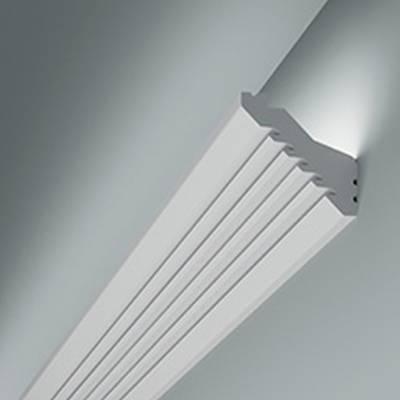 Licht - Stuckleiste 6.50.701 Lines | hochfestes, wasserfestes Polystyrol