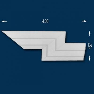 """Fassadenprofile """"Wiesemann FP9"""" - Doppeleckstück rechts"""