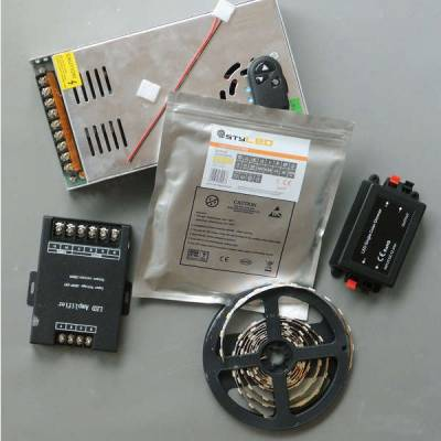 LED-Set mit Dimmer für indirekte Beleuchtung SMD5050 mit 60 LED pro Meter - 5 - 20 Meter