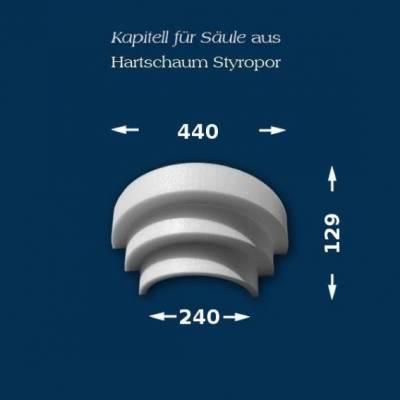 "Säulenkapitell ""Wiesemann SK12-3"" - unbeschichtet"