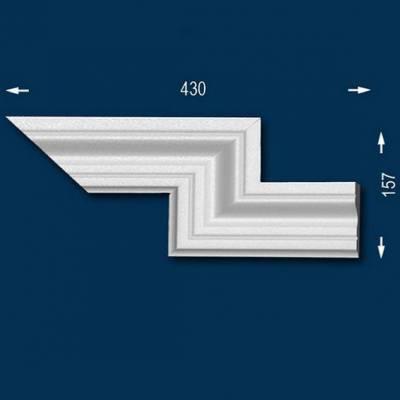 """Fassadenprofile """"Wiesemann FP8"""" - Doppeleckstück rechts"""