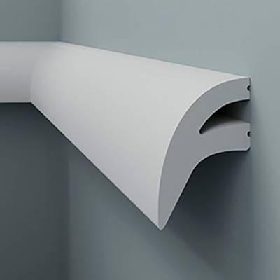 Licht - Stuckleiste 6.51.710 Lines | hochfestes, wasserfestes Polystyrol incl. Reflektionsklebeband