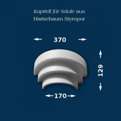 "Säulenkapitell ""Wiesemann SK5-3"" - unbeschichtet"