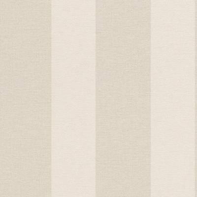 Rasch Florentine   448771   Vliestapete Streifen   0.53 m x 10.05 m   Beige