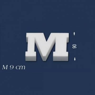"""Buchstabe """"M"""" - Größe 9 cm"""