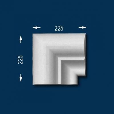 """Fassadenprofile """"Wiesemann FP22"""" - Inneneckstück"""