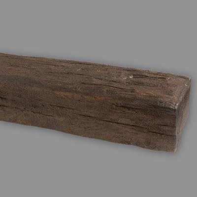 Wiesemann PU-Balken, aus hochfestem Polyurethan, 12 x 12 x 300 cm, dunkelbraun