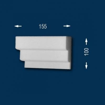 "Fassadenprofile ""Wiesemann FP9"" - Endstück links"