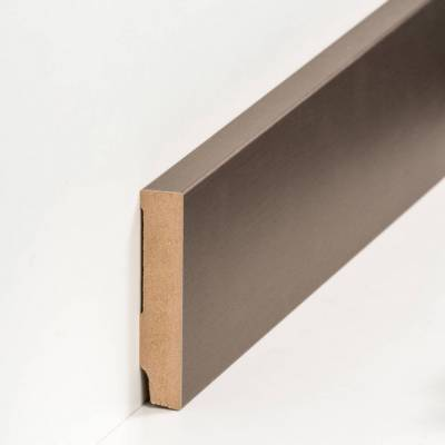 "Fußleisten / Sockelleisten ""Celle"" (MDF foliert / 721.168.48) - Farbe: Bronze (Default)"
