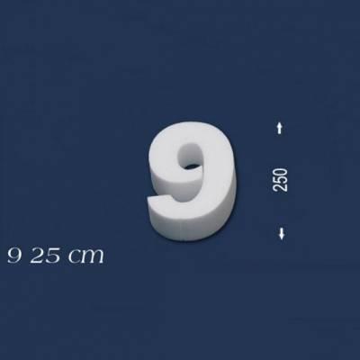 """Ziffer """"9"""" - Größe 25 cm"""