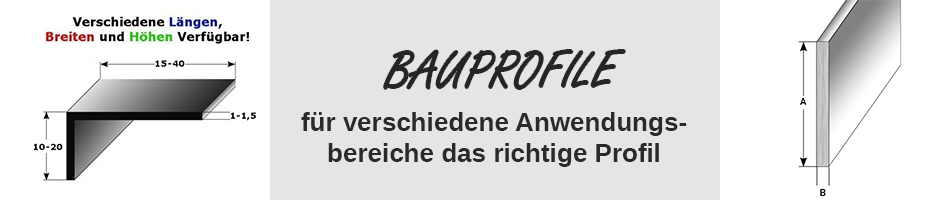 Bauprofil_Montageprofile_Vierkantrohr_T-U-Profil