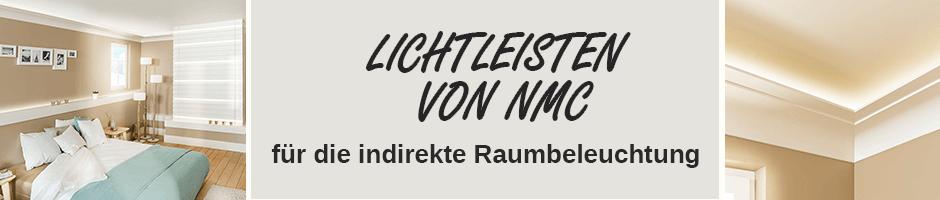 indirekte Beleuchtung LED Lichtleisten NMC
