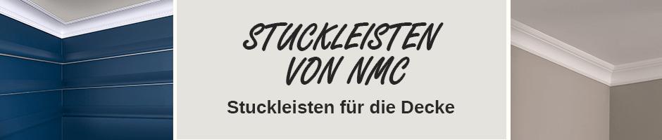 hochwertige Deckenleisten NMC Stuckleisten